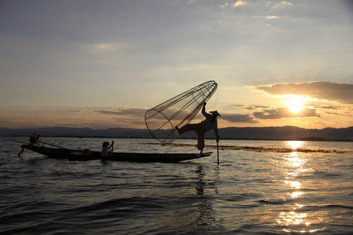 Inle jezero, Burma