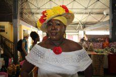 Domačinka, potovanje po Martiniku