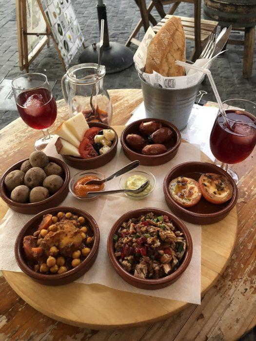Španija, španska hrana, tapasi