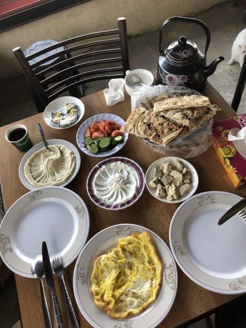 hrana v Jordaniji
