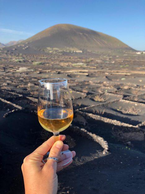 Lanzarote, La Geria je vinska pokrajina
